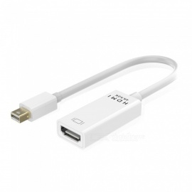 Kitbon 4K * 2K Mini Displayport DP to HDMI Adapter Cable - White