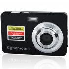 "5.0MP CMOS Compact Digital Video Camera w/ 8X Digital Zoom/SD Slot/Mini USB (2.7"" LTPS LCD)"