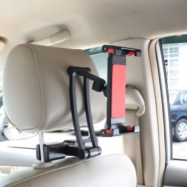 "JEDX Car Back Seat Headrest Mount Holder Stand for Above 5"" Mobile Phone / Tablet"