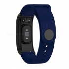 DMDG Smart Bracelet Fitness Tracker Heart Rate Blood Pressure Monitor Watch Information Push For IOS Android- Blue