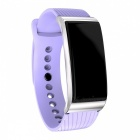 DMDG Smart Bracelet Fitness Tracker Heart Rate Blood Pressure Monitor Watch Information Push for IOS Android - Purple
