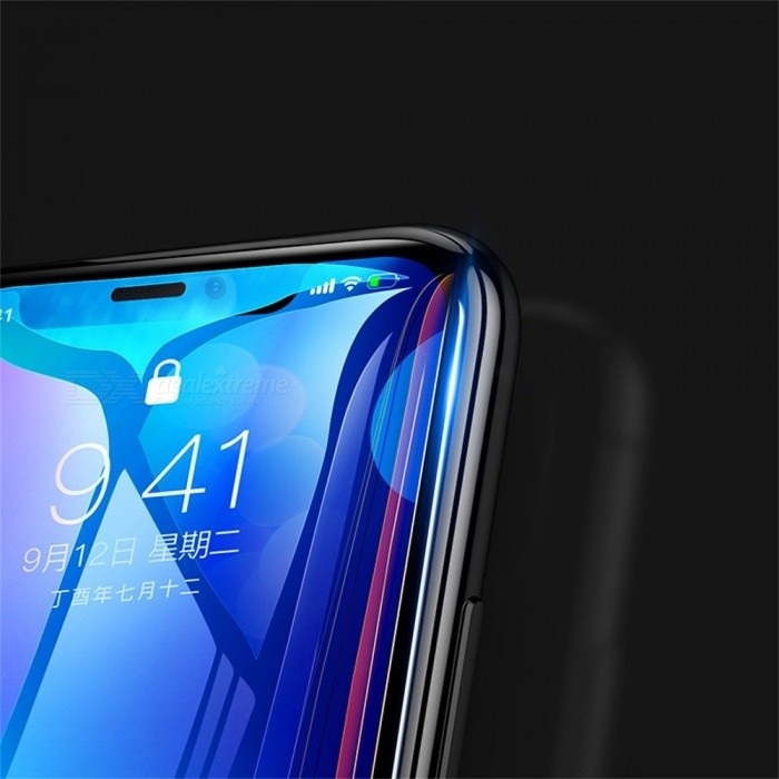 BASEUS Full Tempered Glass Explosion-proof Screen Transparent Protector Front Film 0.3mm For IPHONE X Transparent
