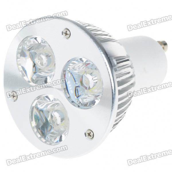 GU10 3W 270-Lumen 6500K 3-LED White Light Lamp Bulb (85~265V) high quality original projector lamp bulb 311 8943 for d ell 1209s 1409x 1510x