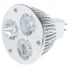 MR16 3W 260-Lumen 3200K 3-LED Warm White Light Lamp Bulb (8~26V)
