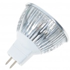 MR16 3W 260lm 3200K chaud ampoule blanche Coupe 3-LED (AC / DC 12 ~ 14V)
