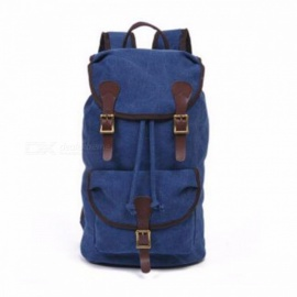 Vintage Rucksack Backpack For School Fashion Men Comfortable Bag College Winds Students Travel Bag Black