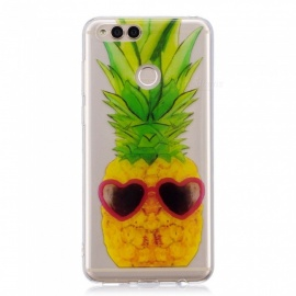 ESAMACT Pineapple Pattern Protective TPU Back Case for HUAWEI Glory 7X