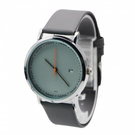 Cooho Y015 Women's Watch Retro Style PU Band Leisure Watch - Grey