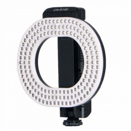ESAMACT LED Video Light, 5600K/3200K Independent Dimming Ring LED Light for Canon Nikon Sony DSLR DV Cameras