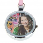 Stylish Hannah Montana Characters Style Quartz Pocket Watch with Strap - Style Assorted (1*LR241)