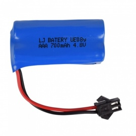 4.8V 700mAh Li-ion Rechargable Ni-CD AAA*4 Model X Battery for RC Cars - Blue