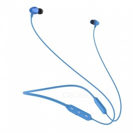 OJADE Bluetooth Headphones Wireless In-Ear Noise Reduction earphone with Microphone Sweatproof Stereo Bluetooth Headset - Blue