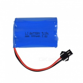 3.6V 300mAh Li-ion Rechargable Ni-CD AAA*3 Model M Battery for RC Cars - Blue