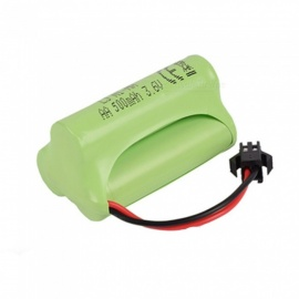 3.6V 500mAh Li-ion Rechargable Ni-MH AA*3 Model Triangle Battery for RC Cars - Green
