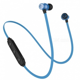OJADE Bluetooth Headphones Wireless In-Ear Noise Reduction Earphone with Mic Sweatproof Stereo Bluetooth Earbuds - Blue