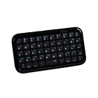 49 teclas de mini teclado Bluetooth inalámbrico QWERTY inalámbrico - negro