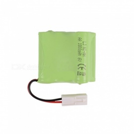 6V 1800mAh Li-ion Rechargable Ni-MH AA*5 Model L Battery for RC Cars - Green