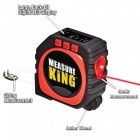 ZHAOYAO New Measure King 3-in-1 Digital Tape Measure String Mode Sonic Mode Roller Mode Measuring Tool