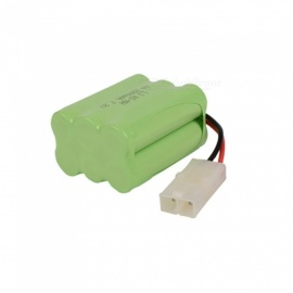 7.2V 2800mAh Li-ion L6.2-2P Rechargable Ni-MH AA*6 Model X Battery for RC Cars - Green
