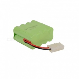 9.6V 2800mAh Li-ion L6.2-2P Rechargable Ni-MH AA*8 Model X Battery for RC Cars - Green