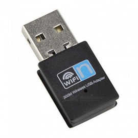 JEDX 300M Mini USB Wi-Fi Adapter, Wireless LAN Network Card Adapter