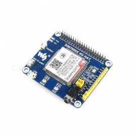 Waveshare 4G/3G/2G/GSM/GPRS/GNSS HAT for Raspberry Pi, Based on SIM7600CE-T (No PI)