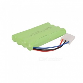 9.6V 1800mAh Li-ion L6.2-3P Rechargable Ni-MH AA*8 Model H Battery for RC Cars - Green