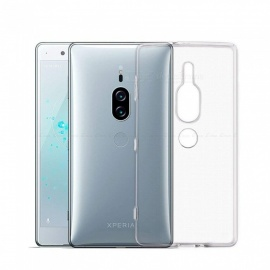 Naxtop TPU Ultra-thin Soft Case for Sony Xperia XZ2 Premium -Transparent