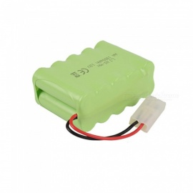 9.6V 1800mAh Li-ion L6.2-2P Rechargable Ni-MH AA*10 Model X Battery for RC Cars - Green