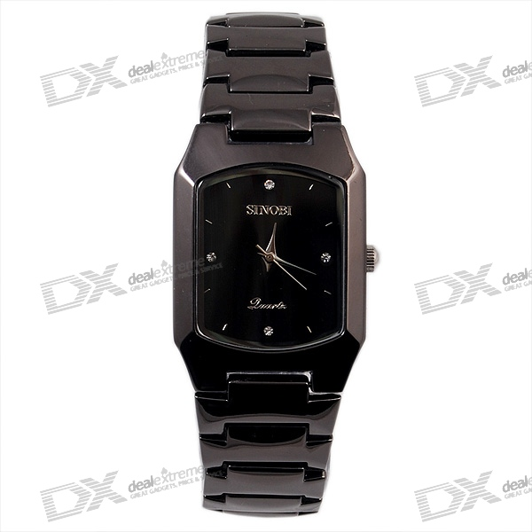 Stainless Steel Quartz Watch for Men