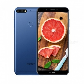 "Honor 7C Android 8.0 4G 5.99"" Phone with 3GB RAM, 32GB ROM, 3000mAh Large Battery - Blue"