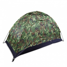 Outdoor Camouflage Mosquito-Proof Camping Fishing Tent for Single Person