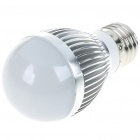 E27 3W 300-Lumen 6500K 3-LED White Light Lamp Bulb (100~240V)