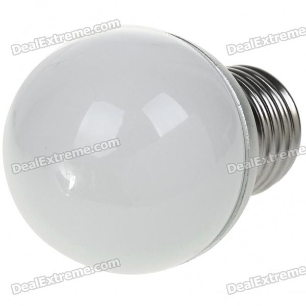 E27 3W 270-300LM 3000-3500K Warm White LED Bulb (100-240V/300mA) - DXE27<br>Ultra bright 3W warm white LED bulb - Voltage: 100-240V 300mA - Color Temperature: 3000-3500K - Luminous Flux: 270-300LM - E27 connector (the most commonly used home/office light bulb connector)<br>