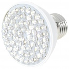 E27 3W 60-LED Energy-Saving White Light Bulb (100~240V)