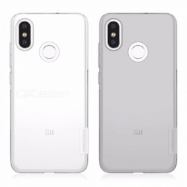 Nillkin Back Case TPU Mobile Phone Case Clear Protective Shell For Xiaomi 8 Light Gray/TPU