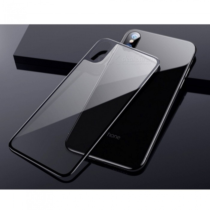 sports shoes a1217 fb76e Tempered Glass Full 3D Curved Back Coverage Scratch Proof Ultra-thin Screen  Protector For IPhone X
