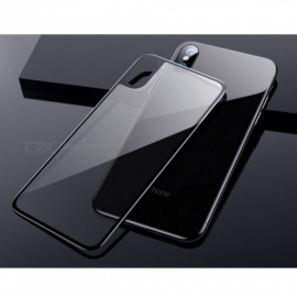 Tempered Glass Full 3D Curved Back Coverage Scratch Proof Ultra-thin Screen Protector For IPhone X Black