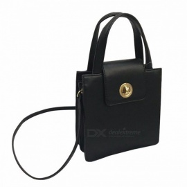 2018 Autumn Winner Women Messenger Bags Solid Simple Hasp Versatile Bag Black