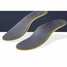 High Elastic Comfortable Cushioned Shoes Foot Pad, Breathable EVA Orthopedic Insole For Shoes Light Green