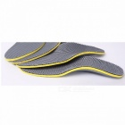 High Elastic Comfortable Cushioned Shoes Foot Pad, Breathable EVA Orthopedic Insole For Shoes Light Grey