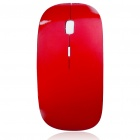 2.4GHz Wireless 1200DPI Optical Mouse with USB Receiver - Red + Silver (2*AAA)