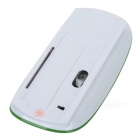 2.4GHz Wireless 1200DPI Optical Mouse with USB Receiver - Green + White (2*AAA)