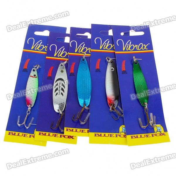 Fishing Baits with Hook - Color Assorted (5-Pack)