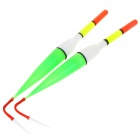 Battery Powered Illuminated Fishing Floats - Red Light (2-Pack / 2*LR41)