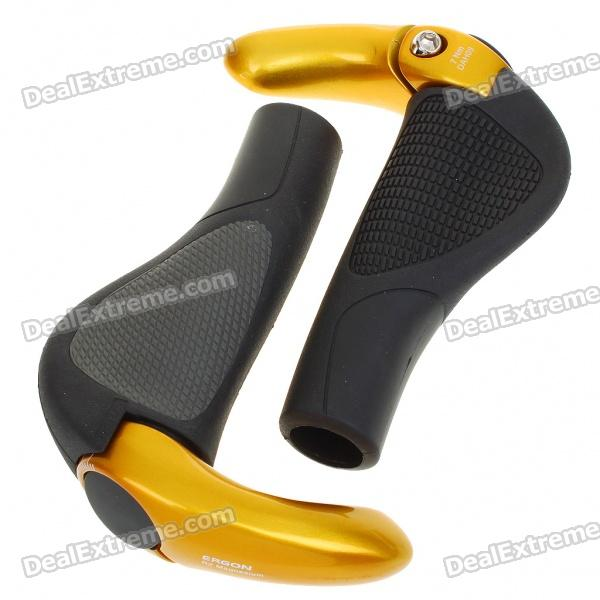 Ergonomic Multi-Position Cycling Grips Bicycle Bar End Handlebar cycling grips bicycle bar end handlebar pair blue