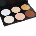 Cosmetic Make-Up 6-Color Powder Kit