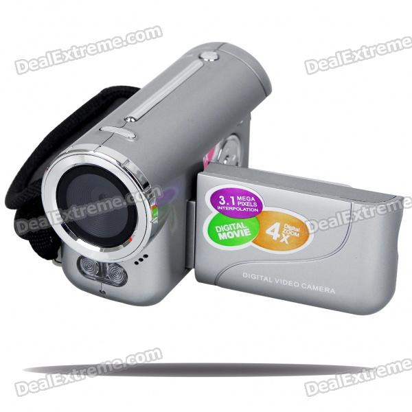 "1.5"" TFT LCD 0.3MP CMOS Digital Video Camera with USB/SD/MMC/AV-Out Slot"
