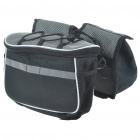 Bike Double Saddle Bag with Rain Cover