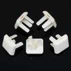 3-Prong Flat Plug Socket Covers (5-Piece Pack)
